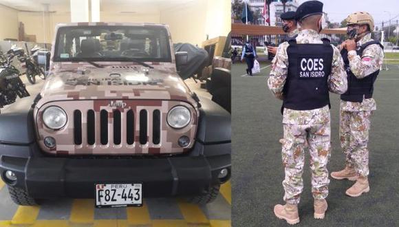 La Municipalidad de San Isidro informó que se han sido contratados para este equipo unos 30 licenciados de las Fuerzas Armadas. También fueron alquilados dos vehículos todoterreno. (Fotos: Difusión)