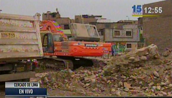 Vía Parque Rímac afecta a vecinos que siguen en zonas de obras
