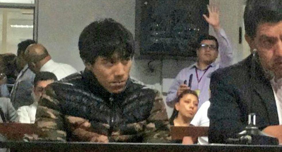 Esneider Estela (31) intentó huir de la justicia, pero fue capturado por la Policía Nacional luego del ataque a Juanita Mendoza. (Foto: Poder Judicial)