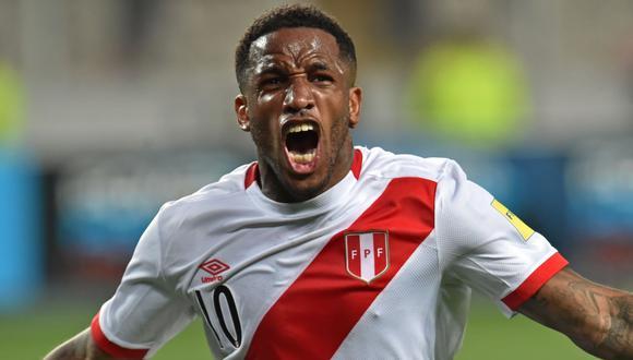 Jefferson Farfán, delantero de la selección peruana. (Foto referencial: AFP)