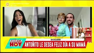 Sheyla Rojas recibe tierna sorpresa de su hijo Antoñito por el Día de la Madre