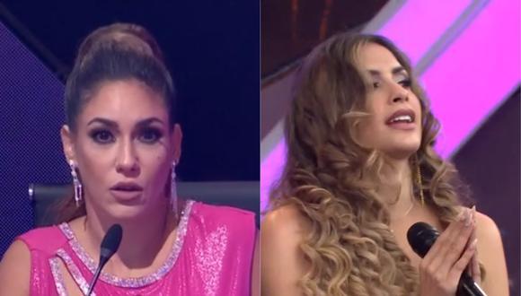 """Tilsa Lozano tras presentación de Milett Figueroa en """"El Artista del Año"""": """"Tuvo varios errores"""". (Foto: Captura América TV)."""