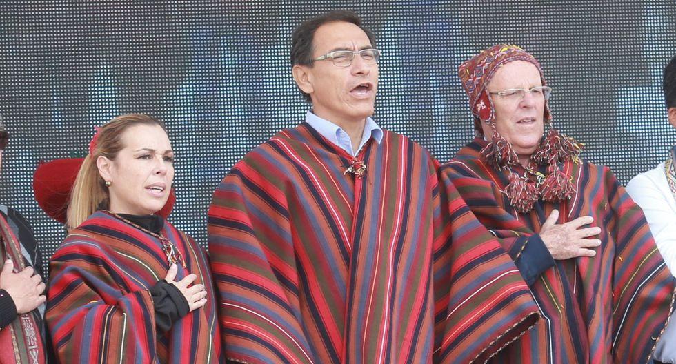 En febrero del 2017, Molinelli participó, junto con Vizcarra y PPK en la inauguración de las obras de Chinchero. (Foto: GEC)