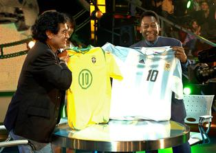 Pelé despide a Maradona con estas palabras