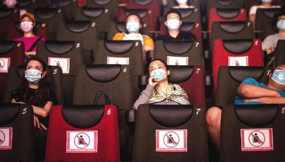 Cinemark Perú reabre sus puertas este jueves 5 de agosto con todas las medidas de bioseguridad. (Foto: Andina / Referencial)
