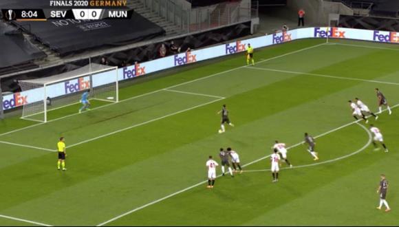 Manchester United vs. Sevilla: Bruno Fernandes y el 1-0 desde el punto penal | VIDEO