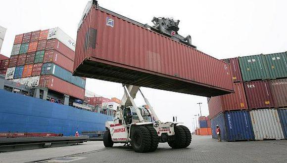 Las exportaciones se recuperan ligeramente y logran números positivos a mayo.