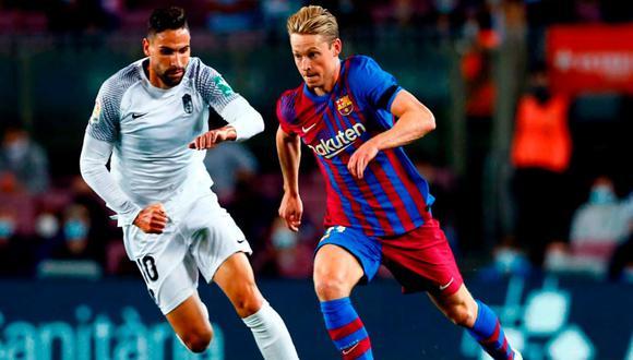 Barcelona no consiguió la victoria en el Camp Nou ante Granada | Foto: EFE.