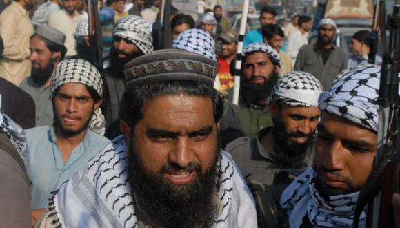 """Mufti Muhammad Asghar es el líder del llamado """"Ejército de Mahoma"""" en Cachemira."""