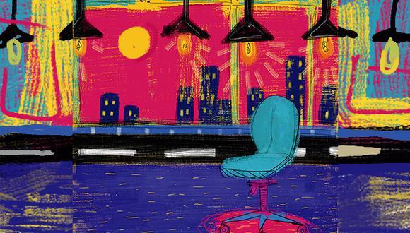 Empresas evalúan su necesidad de espacio ante la nueva normalidad. (Ilustración: Giovanni Tazza / GEC)