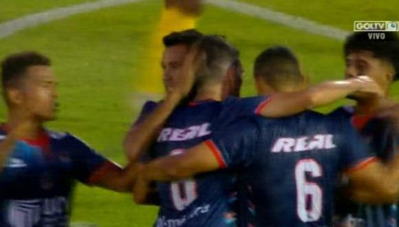 Barcelona SC vs. César Vallejo: mira el golazo de tiro libre de Germán Pacheco para el 1-1. | Foto: Captura