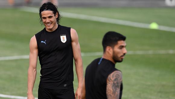 Suárez y Cavani no se reencontrarán en el inicio de las Eliminatorias a Qatar 2022. (Foto: AFP)