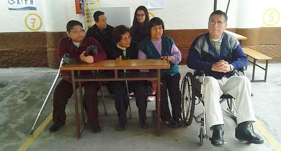 Jesús María: Personas con discapacidad con problemas para votar