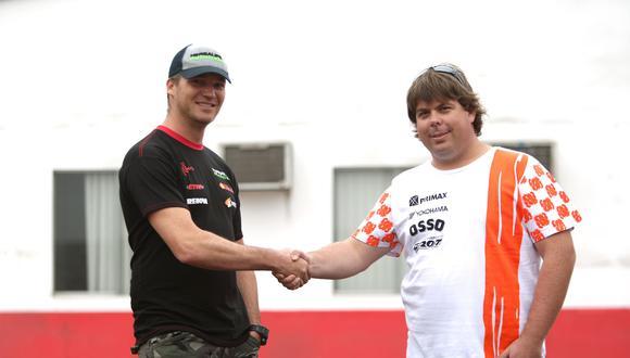 Con dos títulos cada uno en el Gran Premio Nacional de Carreteras, Nico y el 'Mono', dos de los mejores pilotos peruanos de los últimos tiempos, son los candidatos al título.  (Foto: ITEA Comunicaciones)
