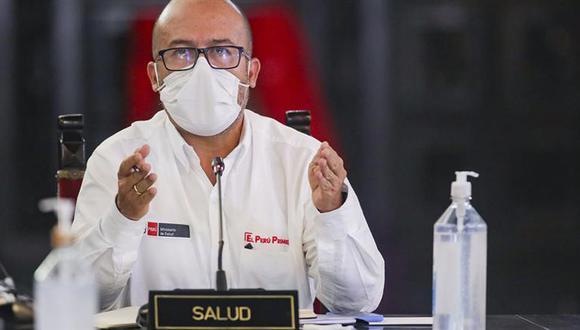 Zamora enfatizó que Loreto, Lambayeque, Piura, donde la epidemia golpeó más fuerte, también registran un descenso de casos por coronavirus.  (Foto PCM)