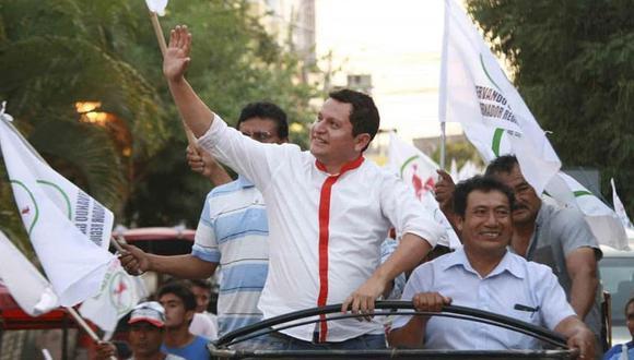 Segunda vuelta: Servando García Correa es el virtual gobernador regional de Piura