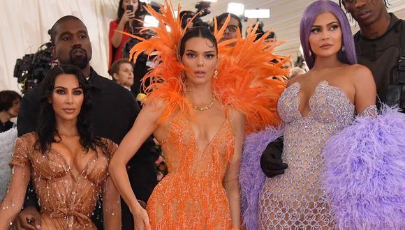 Kim Kardashian, Kendall Jenner y Kylie Jenner son algunas de las integrantes de la familia más famosa de Estados Unidos(Foto: ANGELA WEISS / AFP)