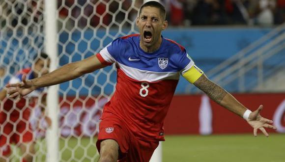 Récord: Dempsey marcó el quinto gol más veloz de los mundiales