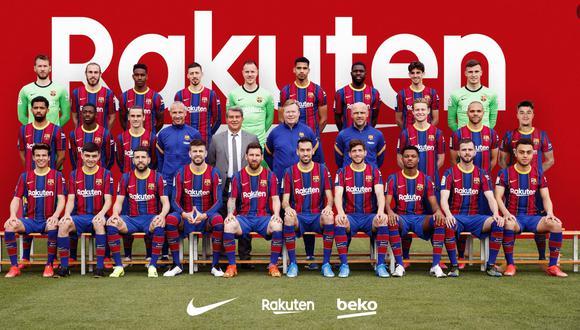 FC Barcelona: la foto oficial del club blaugrana integró a Coutinho mediante una peculiar técnica | FOTO