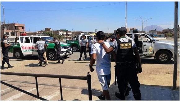 La Libertad: Intervienen a presuntos asaltantes y extorsionadores en Trujillo.
