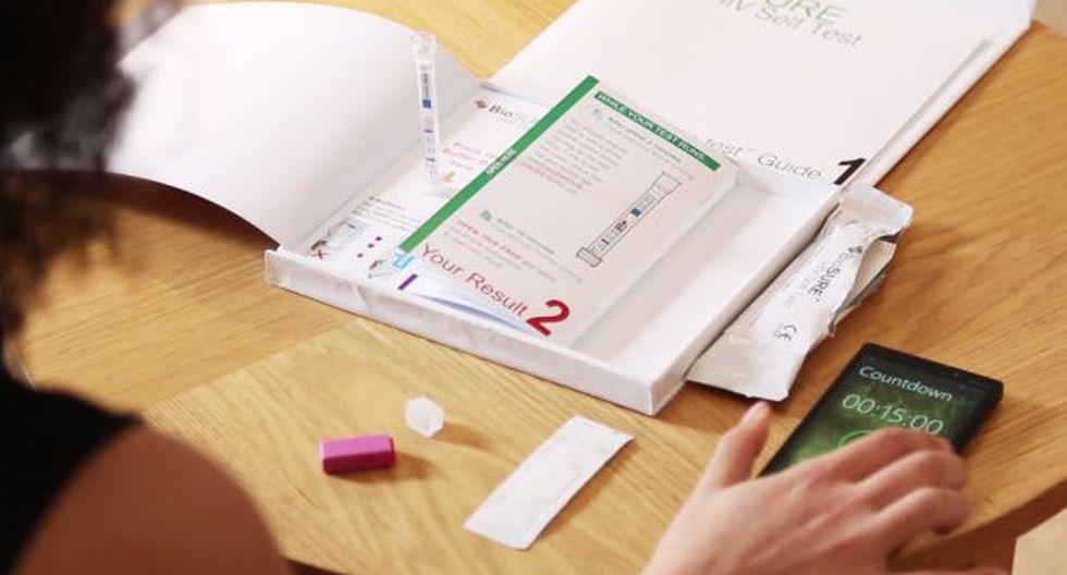 Reino Unido empezó a comercializar prueba casera de VIH