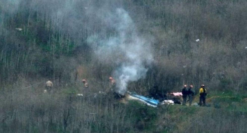 El accidente ocurrió en la localidad de Calabasas. Foto: REUTERS, vía BBC Mundo