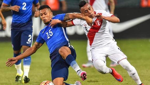 Perú perdió 2-1 ante EE.UU. en duelo jugado en Washington