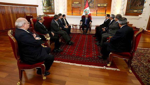 Humala dirigió reunión para definir medidas anticorrupción