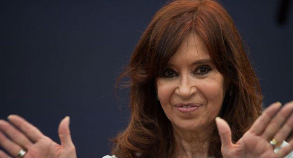 Cristina Kirchner es ahora vicepresidenta electa de Argentina. (AFP).