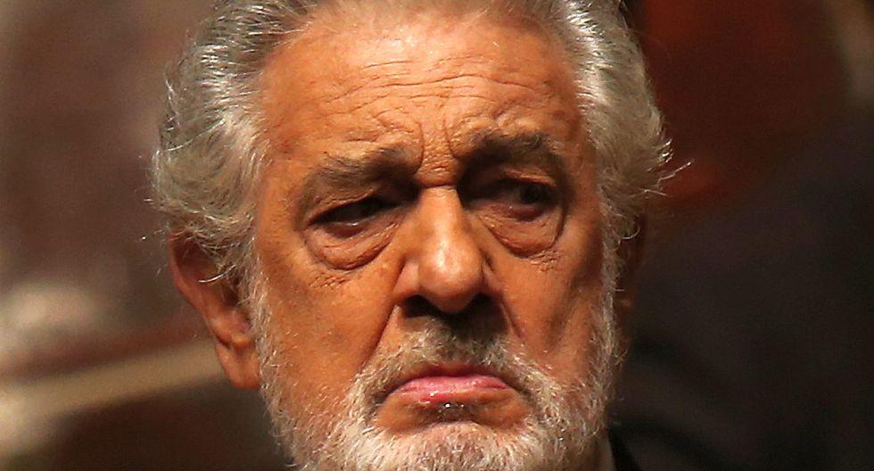 Tenor español Plácido Domingo. (Foto: AFP)