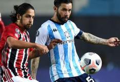 Racing - Sao Paulo: empataron a cero por Copa Libertadores