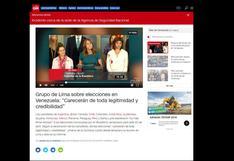 Rechazo de presencia de Maduro: así informó la prensa extranjera