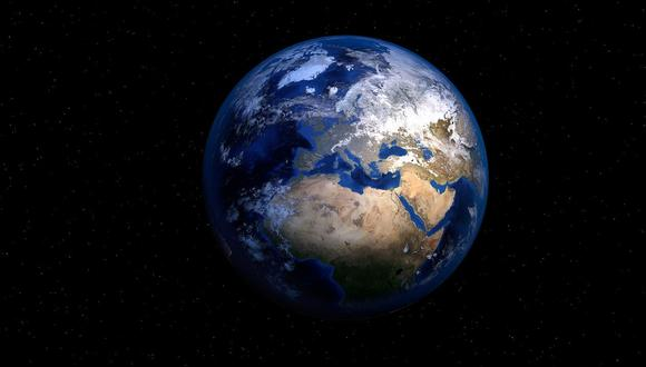 El video con resolución 4K de la Tierra fue transmitido a la superficie.(Foto: Pixabay)