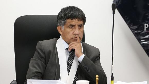 Juez Richard Concepción Carhuancho está a cargo del caso de los presuntos aportes ilícitos a la campaña de Ollanta Humala.(Foto: GEC)