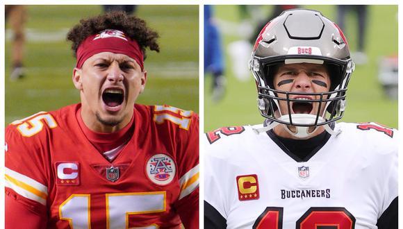 Mahomes aventaja a Brady y es favorito para llevarse el premio MVP del Super Bowl