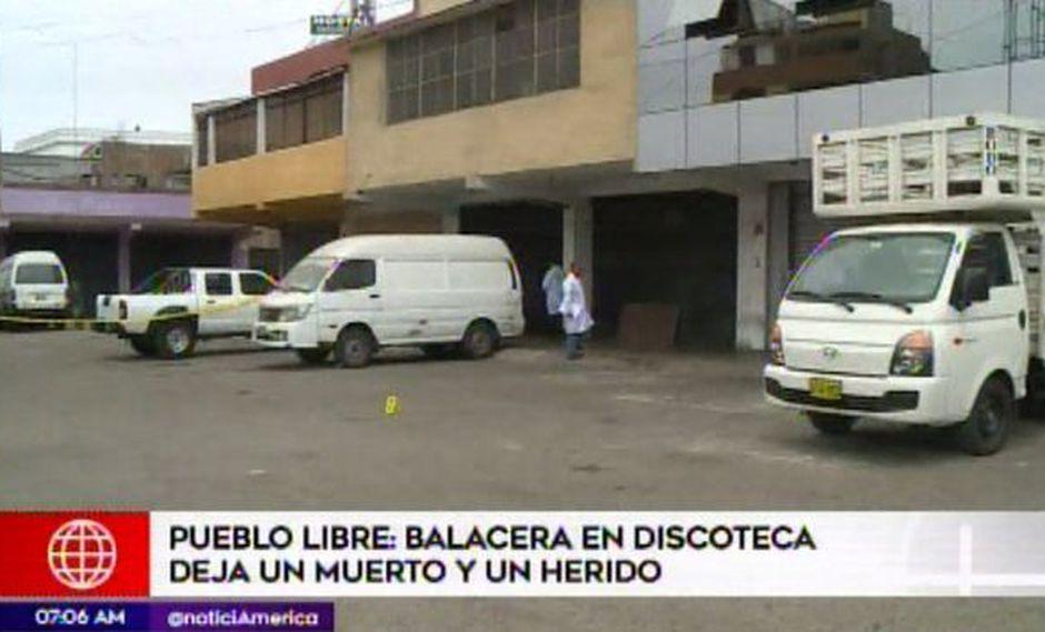 Una ciudadana venezolana resultó herida. (Foto: Captura/América Noticias)