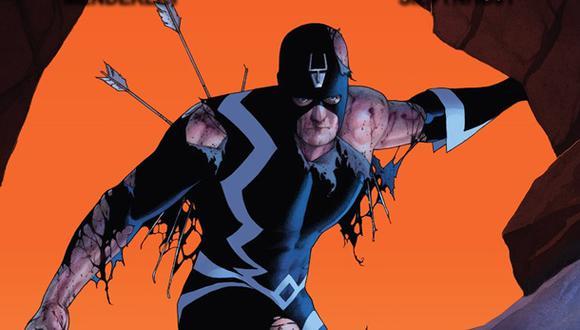 """Black Bolt, líder de los """"Inhumans"""", no habla, pues su voz es capaz de matar. (Imagen: Marvel)"""