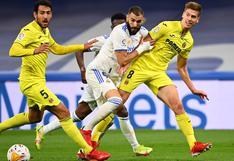 Real Madrid vs. Villarreal: resultado y resumen del partido por LaLiga
