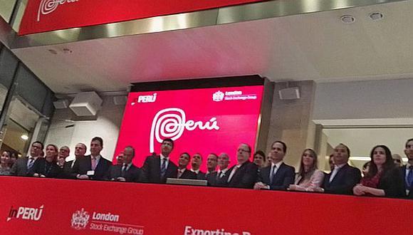 Perú dio el tradicional 'campanazo' en Bolsa de Londres