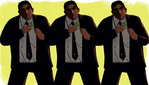 """""""¿Y qué decir del corrupto inútil? ¿Es este peor que el corrupto útil, el mal mayor? No. Cuando hablamos de un corrupto útil pensamos en alguien que, buscando el poder para sí mismo, por lo menos tiene habilidades prácticas que prometen resultados"""". (Ilustración: Víctor Aguilar Rúa)."""
