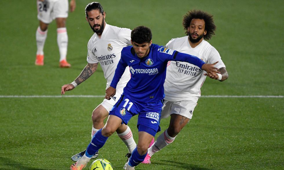 Real Madrid visitó en la fecha 33 al Getafe en el Coliseum Alfonso Pérez | Foto: AFP