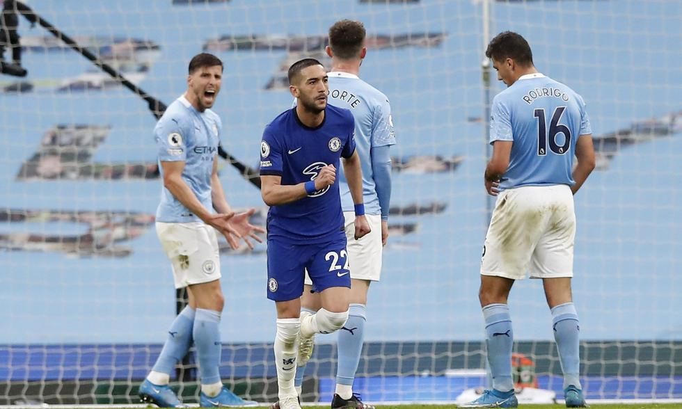 Manchester City vs. Chelsea: las imágenes del partido por la Premier League | Foto: REUTERS