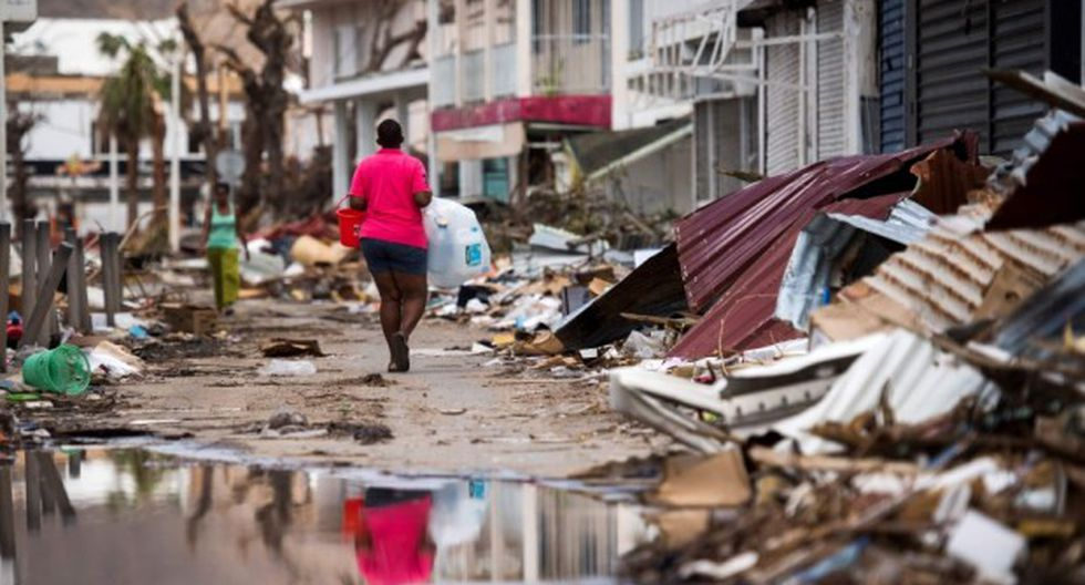 Huracán Irma: Los Cayos de la Florida en la imagen. (Foto: AFP)