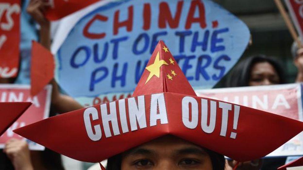 Los avances de China en las aguas provocaron protestas en países vecinos, como Filipinas.