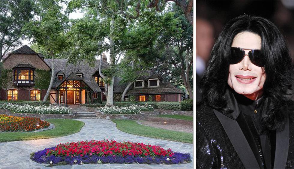 Construido en 1982 y diseñado por Robert Altevers, el rancho fue adquirido por Michael Jackson en 1987 por $ 19.5 millones. Vivió allí por más de 15 años. (Foto: Realtor/ Shutterstock)