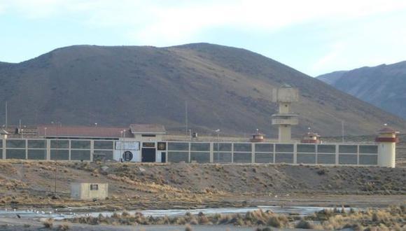 Tacna: incautan en penal de Challapalca 2 armas en encomienda
