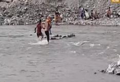 Río Rímac: decenas de personas asisten a ribera pese restricciones [VIDEO]