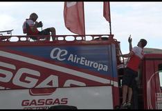 Dakar 2018: así espera la asistencia el final de una etapa