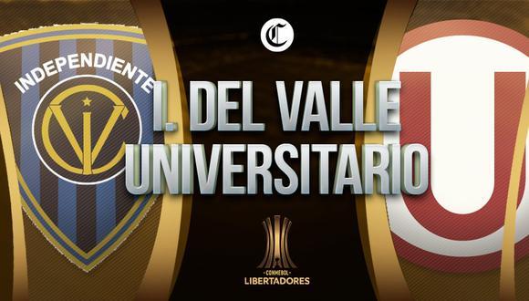 Universitario visita el Casa Blanca de Quito y enfrentará a Independiente del Valle por la fecha 3 de la fase de grupos de Copa Libertadores 2021 | Foto: Diseño EC