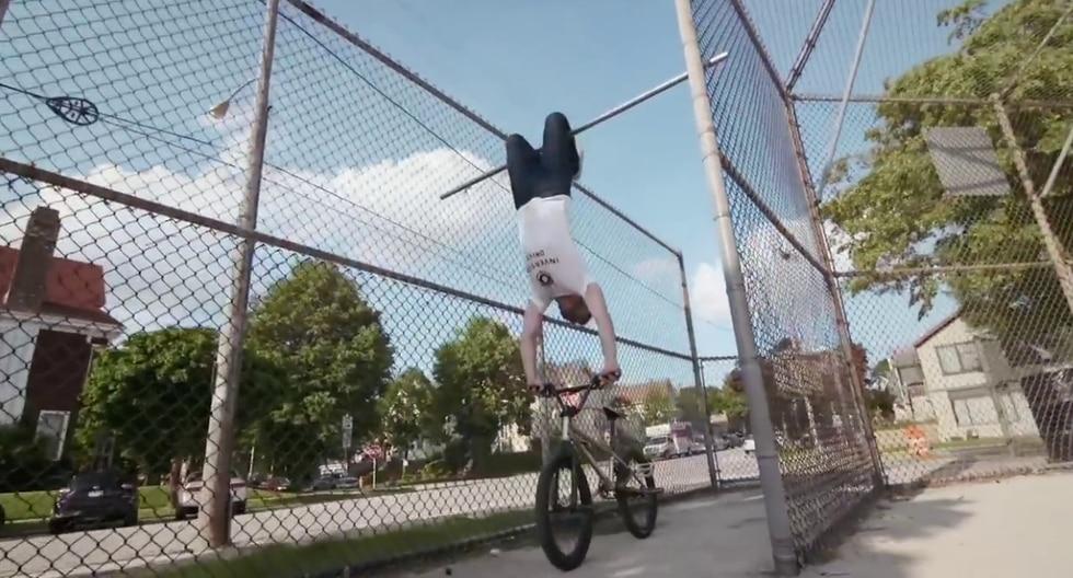 Un ciclista causa furor en Internet por su peculiar estilo que mezcla el BMX y el parkour. (Fotos: Red Bull Bike en YouTube)